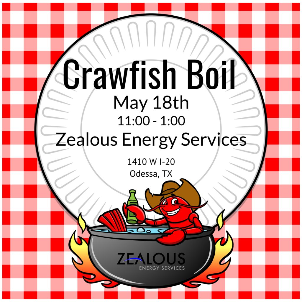 Zealous Crawfish Boil - Invite
